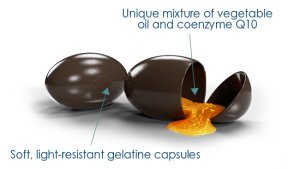 The capsule protects the content against light and oxygen throughout the shelf life